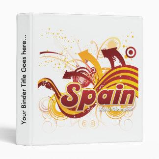ESP Spain 2010 Vinyl Binder