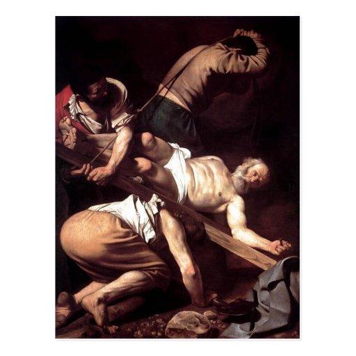 ¿Espa sumario? ol: ¿Crucifixi del La? n de San Ped Postal