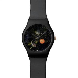 ESPACIE (diseño 17) el reloj mate del ~black