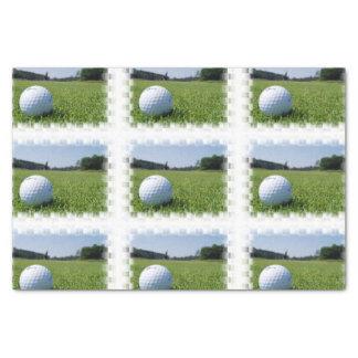 Espacio abierto del golf papel de seda pequeño