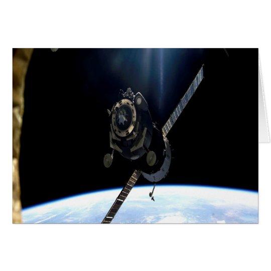 espacio aéreo internacional de la NASA del iss de  Tarjeta De Felicitación
