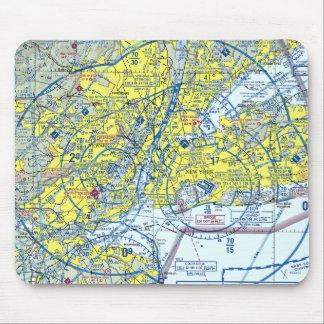 Espacio aéreo Mousepad de Nueva York