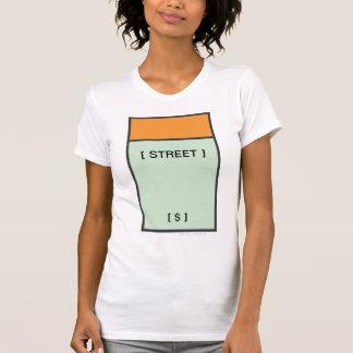 Espacio anaranjado camiseta