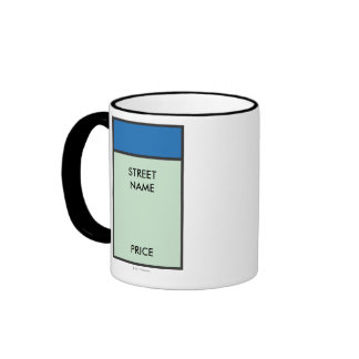 Espacio azul taza de dos colores