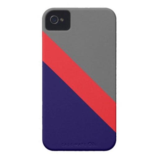ESPACIO DE GEOSTRIPS Case-Mate iPhone 4 CARCASA
