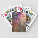 Espacio de Hubble de la nebulosa de Orión Baraja Cartas De Poker