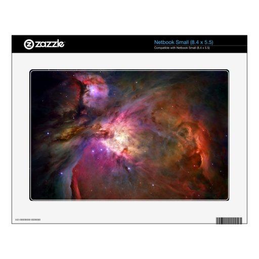 Espacio de Hubble de la nebulosa de Orión Skins Para Netbook Pequeño