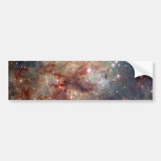Espacio de Hubble de la nebulosa del Tarantula Pegatina Para Auto