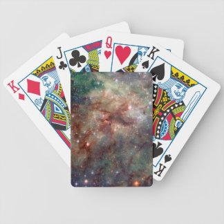 Espacio de Hubble de la nebulosa del Tarantula Cartas De Juego