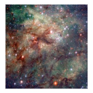Espacio de Hubble de la nebulosa del Tarantula Cojinete