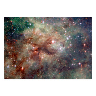 Espacio de Hubble de la nebulosa del Tarantula Tarjeta De Visita