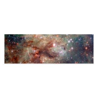 Espacio de Hubble de la nebulosa del Tarantula Tarjetas De Visita Mini