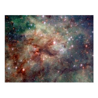 Espacio de Hubble de la nebulosa del Tarantula Postal