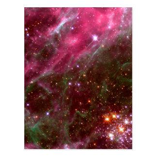 Espacio de Hubble de la nebulosa del Tarantula Tarjeta Postal