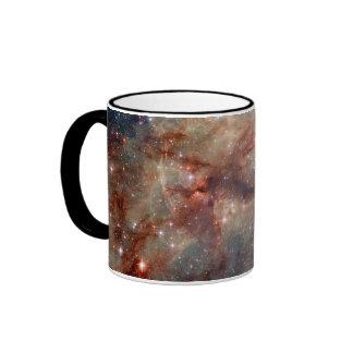 Espacio de Hubble de la nebulosa del Tarantula Taza De Café