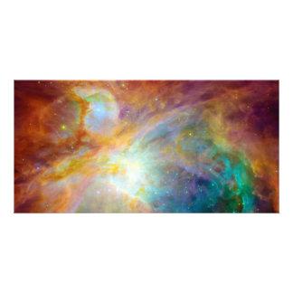 Espacio de Hubble Spitzer de la nebulosa de Orión Tarjeta Personal Con Foto