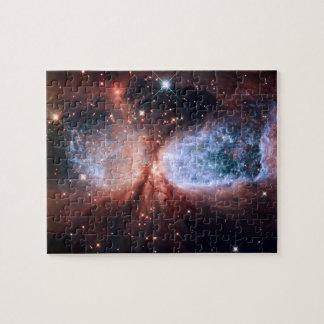 Espacio de la estrella de la nebulosa de Sharpless Puzzles