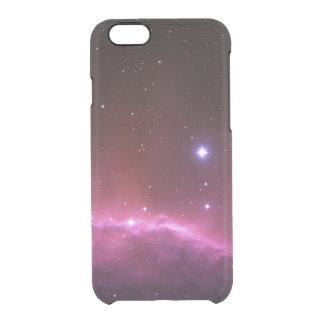 Espacio de la foto de la nebulosa de la galaxia y funda clearly™ deflector para iPhone 6 de uncommon