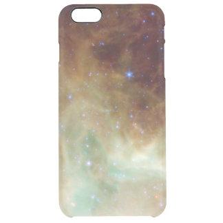 Espacio de la foto de la nebulosa de la galaxia y funda clearly™ deflector para iPhone 6 plus de unc