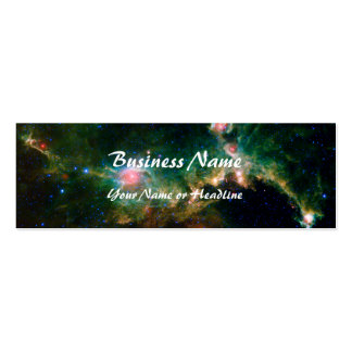 Espacio de la NASA de la nebulosa de la gaviota Tarjeta Personal