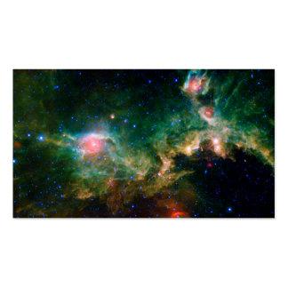 Espacio de la NASA de la nebulosa de la gaviota Tarjetas De Visita