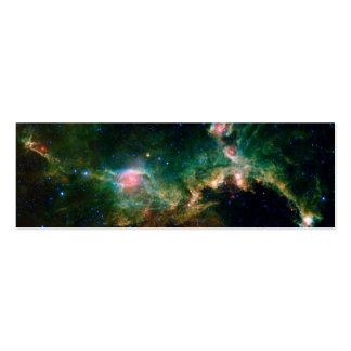 Espacio de la NASA de la nebulosa de la gaviota Tarjeta De Negocio