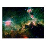 Espacio de la NASA de la nebulosa de la gaviota Postales