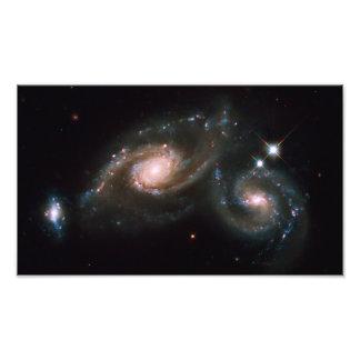 Espacio de la NASA de las galaxias del Arp 274 Fotografía