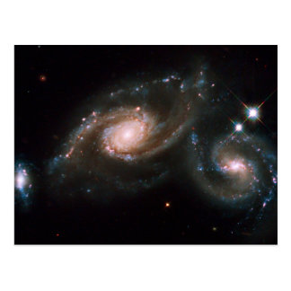 Espacio de la NASA de las galaxias del Arp 274 Postales