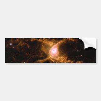 Espacio de la nebulosa de la araña roja pegatina para auto