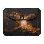 Espacio de la nebulosa de la araña roja funda para macbooks