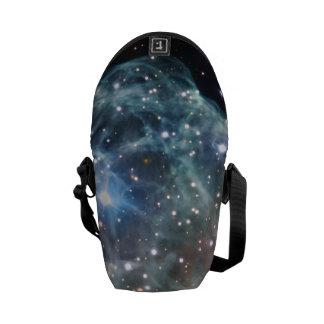 Espacio de la nebulosa del casco del Thor Bolsa Messenger