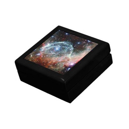 Espacio de la nebulosa del casco del Thor Cajas De Regalo