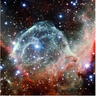 Espacio de la nebulosa del casco del Thor Esculturas Fotograficas
