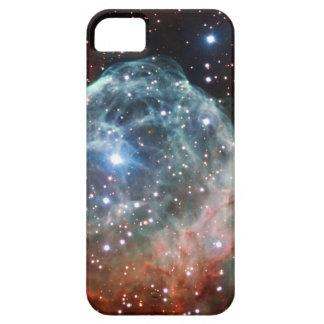 Espacio de la nebulosa del casco del Thor iPhone 5 Cárcasa