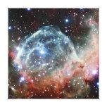 Espacio de la nebulosa del casco del Thor Lona Estirada Galerías