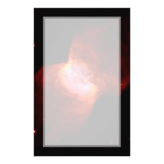 Espacio de la nebulosa planetaria NGC 2346 Tarjeta Publicitaria