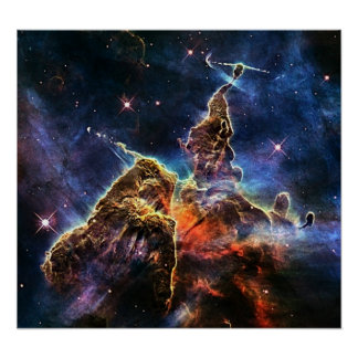 Espacio de las nebulosas de Carina Impresiones