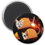 Espacio de los gatos del Taco Imán Redondo 5 Cm