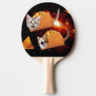 Espacio de los gatos del Taco Pala De Ping Pong
