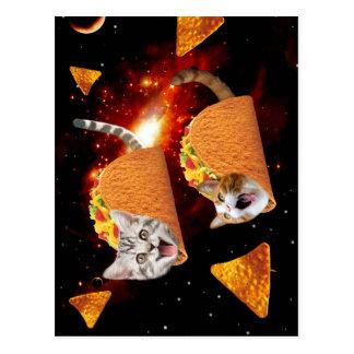 Espacio de los gatos del Taco Postales
