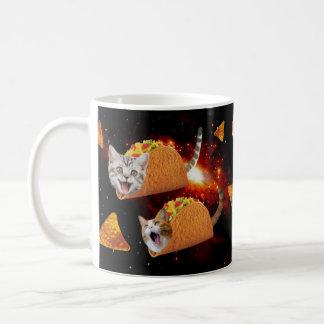 Espacio de los gatos del Taco Taza De Café