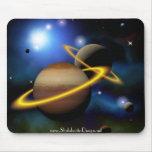 Espacio de los planetas de las estrellas alfombrillas de ratón