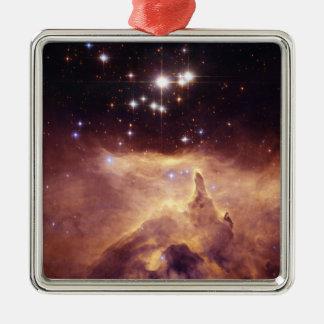 Espacio de Pismis 24 del cúmulo de estrellas Ornamentos De Reyes