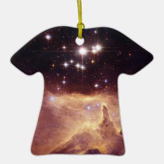 Espacio de Pismis 24 del cúmulo de estrellas Ornato