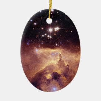 Espacio de Pismis 24 del cúmulo de estrellas Adorno