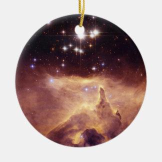 Espacio de Pismis 24 del cúmulo de estrellas Adornos De Navidad