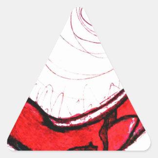 Espacio de probabilidad Transcender Pegatina Triangular