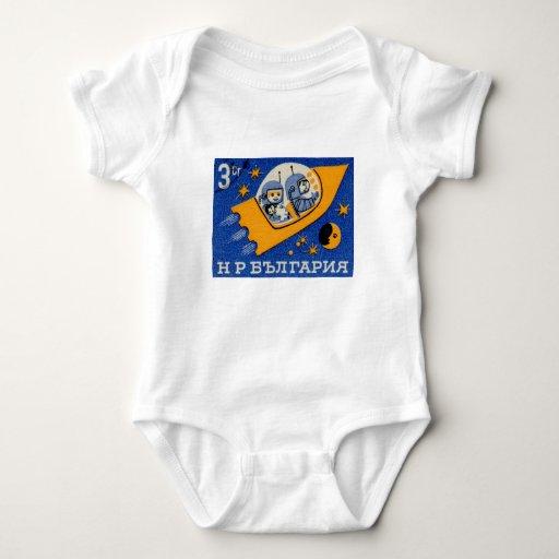 Espacio de Rocket del búlgaro de Bulgaria del Body Para Bebé