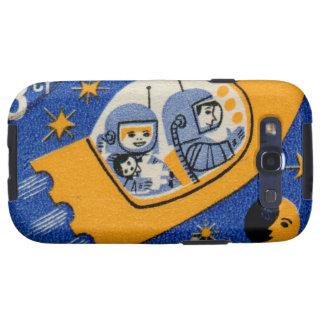 Espacio de Rocket del búlgaro de Bulgaria del Samsung Galaxy SIII Funda